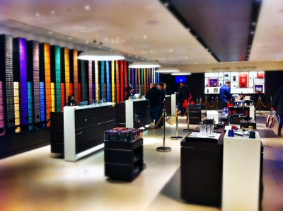 Nespresso store Regent Street London