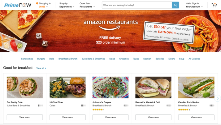 amazon-prime-restaurants